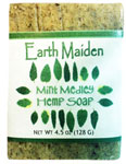 Mint Medley Hemp Soap by Earth Maiden