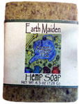 Roasted Green Tea Vegan Hemp Soap by Earth Maiden
