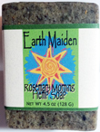 Rosemary Morning Vegan Hemp Soap by Earth Maiden. Feel the Difference!