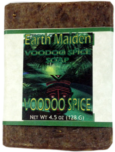 VooDoo Spice soap by Earth Maiden  HooDoo? VooDoo? Magic? A